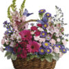 Country Basket Blooms T48-3A
