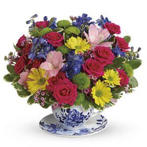 Garden T-Cup Bouquet