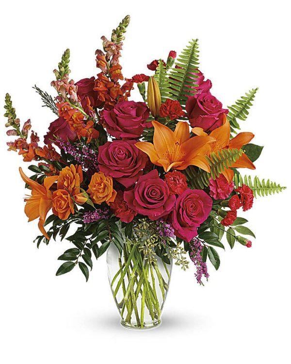 Punch Of Color Bouquet