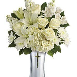 Sacred Heart vase