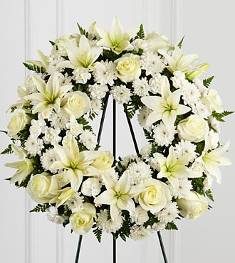 Faithful Wishes™ Wreath